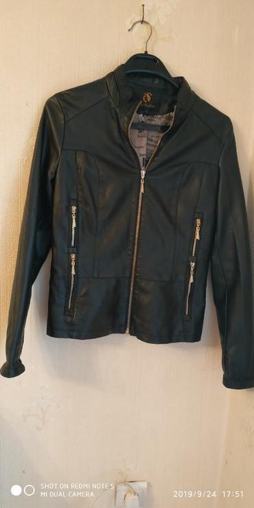 тёплую кожаную куртку в Кыргызстан: Продаю кожаную куртку новая размер xl