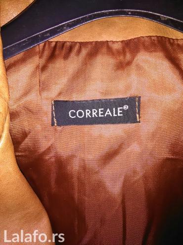 Италијанска кожна јакна. Прелепа боја и одлично очувана. Као нова је.  - Smederevska Palanka