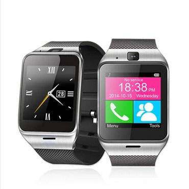 Black-and-white-stripes - Srbija: Original GV 18 Wrist Watch with camera android Smart Watch support NFC