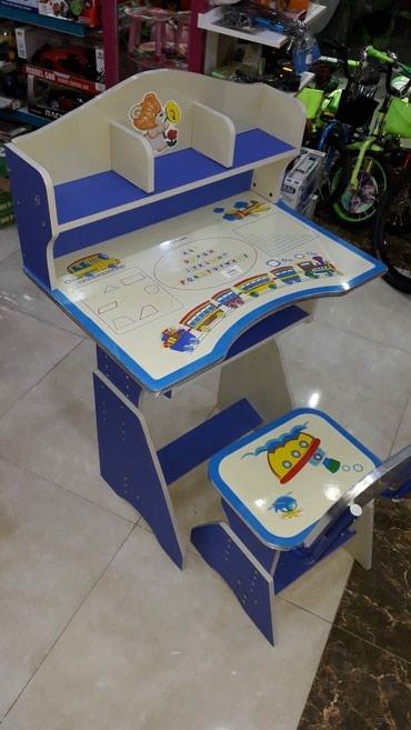 Xırdalan şəhərində Uşaq yazı masası,tezedi,modellər çoxdur, çatdırılma xidməti