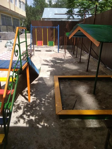 табуретка скамейка в Кыргызстан: Детские игровые площадки! качели, горки, песочницы, турники, брусья, к