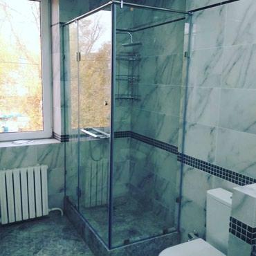Душевые кабины из каленного стекла и в Бишкек