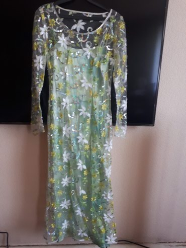Платье размер 40-42. подклад на лямочках в Бишкек