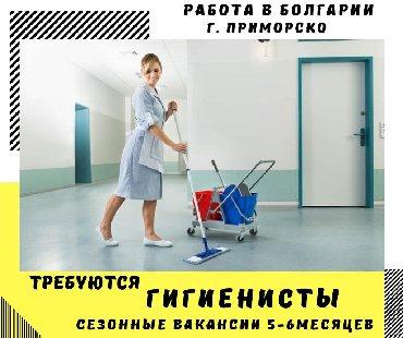 Работа за границей - Нарын: Работа гигиенисты в болгариюг. приморскосезонные вакансии на 5-6