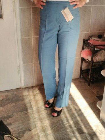 Elegantne pantalone nove sa etiketom u veličinama 40 i 42. Plave boje. - Pancevo