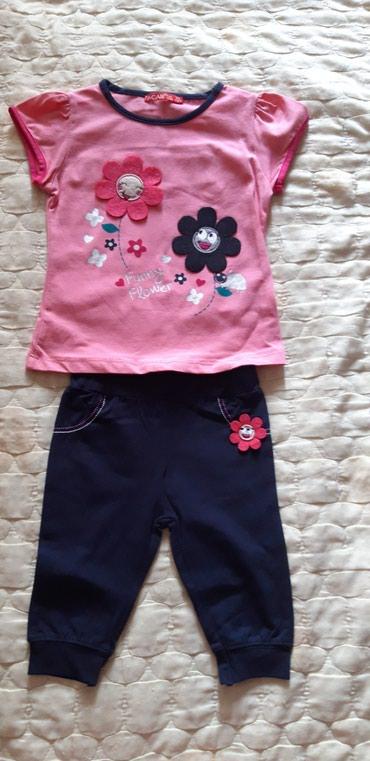 Новый костюмчик футболочка розовая и в Бишкек