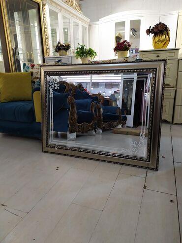 зеркало в комнате в Кыргызстан: Продается зеркало  Размеры: 1.10х85см, 1.12х1.12см Новые в упаковке Це