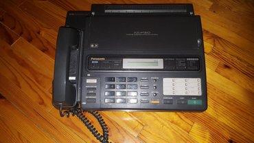 Сот телефонов - Кыргызстан: Телефон-факс panasonic
