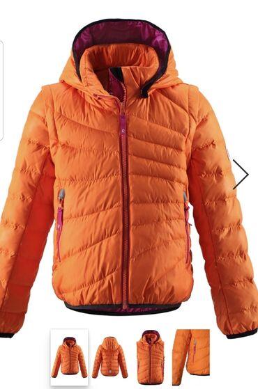 Продаю куртку на девочку новую фирмы REIMA На рост 122 см (7лет)