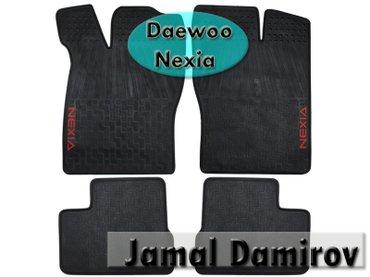 Bakı şəhərində Daewoo Nexia üçün poliuretan ayaqaltılar. Полиуретановые коврики