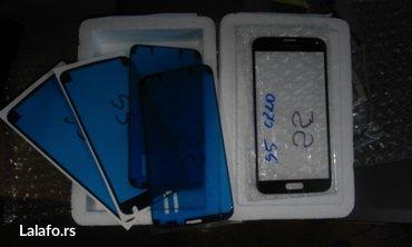 Staklo taca touchscreena za samsung galaxy s5 g900 sa trakom.