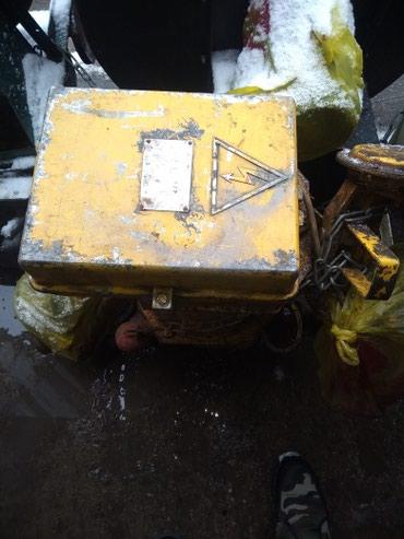 Продаю Тельфер 1000кг подъем состояние идеальное производства СССР в Бишкек - фото 3