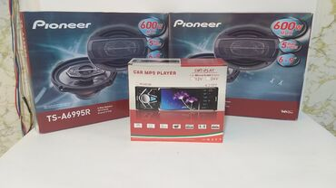 Pioneer 4 eded dinamik ve maqnitafon arxa kamera destekleyen aux