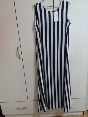 Длинное ,летнее платье 50 размера ,новая в Бишкек