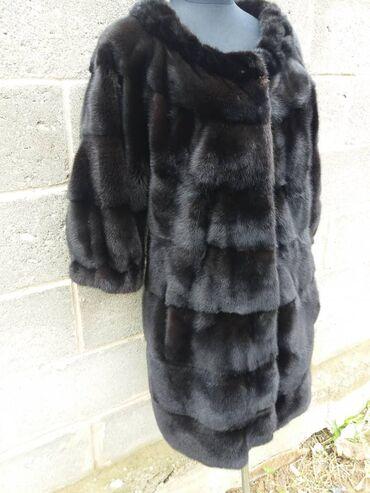 Женская одежда в Корумду: Короткошерстное норковая шуба воротник Шанель размер 45 .46 идёт цена