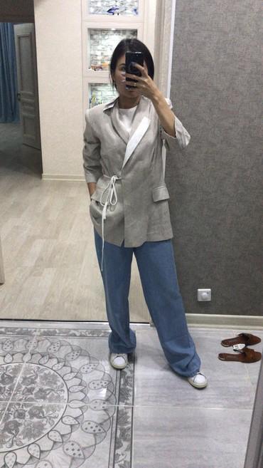 синий пиджак женский в Кыргызстан: Пиджак! БРЮКИ! Турция! Бренд Mira Mia и Perspective!!! Осталось 2