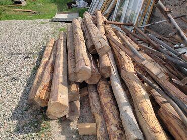 Всё для дома и сада - Кыргызстан: Продаю балки отун жыгач карагай дрова