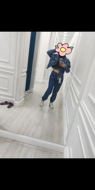 Брюки - Сокулук: Модные джинсовые брюки, 2000 сом