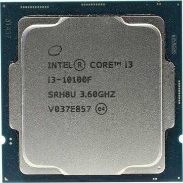 CPU Intel Core i3-10100F, LGA1200, 3.6-4.3GHz, 6MB Cache, 4 Cores + 8