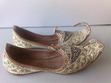 Haljina-fabiani - Srbija: Etno papuce rucni rad izuzetno dekorativneNe znam tacno koji je broj