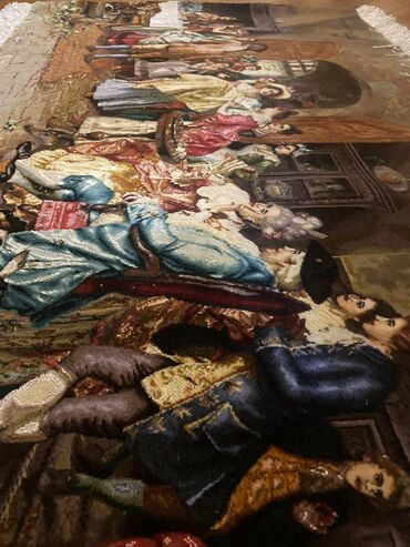 İran xalçası temiz yep yeni el işlemesidi (152uzunluk eni 95)i̇pek x