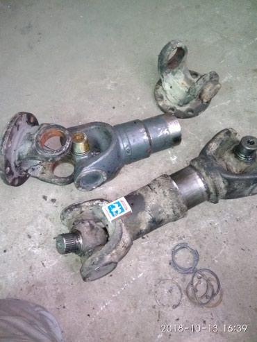 Устранение вибрации кардана методом центрирования крестовины. в Бишкек
