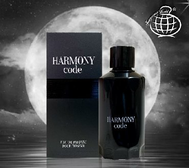 Fragrance World Harmony Code Eau De Parfum for Men Natural Sprey kişi