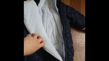 Комбинезон зимний на 3-6 месяцев, синий, в Бишкек