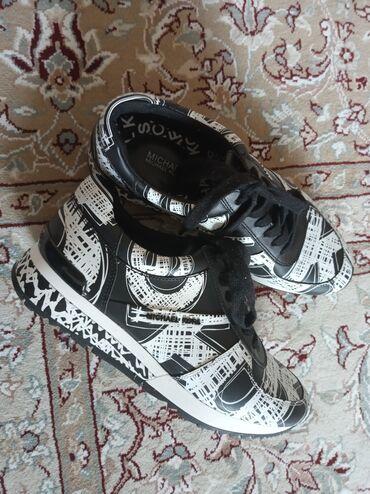 Кожаные кроссовки Майкл Корс оригинал из США, 150$