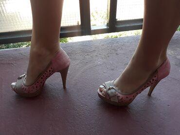 Cipele ocuvane, bez ostecenja, br 38 normalan kalup