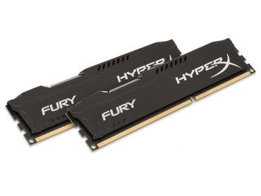 Оперативная память - Кыргызстан: Топовая память DDR3 8GB HyperX Может работать на 1866MHz, 1600MHz и