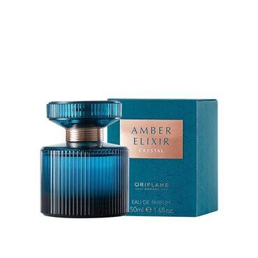 Amber Elixir Crystal parfüm suyu  50 ml.   Baltika kəhrabasından ilham