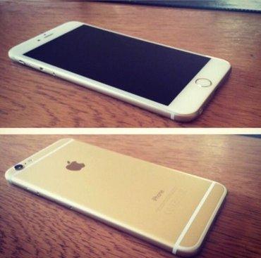 Bakı şəhərində Iphone 6plus gold 128gb yaddaw