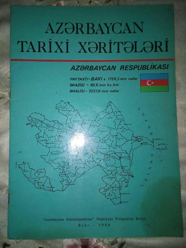 Bakı şəhərində Tarix kitablari