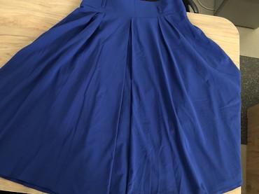длинную юбку в Кыргызстан: Продаю юбку Турция цвет синий (электрик) С кармашками Длина ниже колен