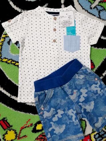 Dečiji Topići I Majice | Pozarevac: (NOVO!) Majica (+ POKLON šorts) - vel. 74/80!Nova LC Waikiki Mini Man