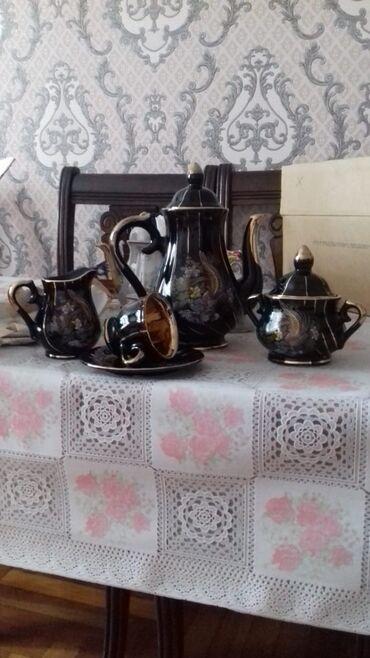servizi - Azərbaycan: Türkiyə istehsalı olan 6 neferlik çay servizi. 40 AZN
