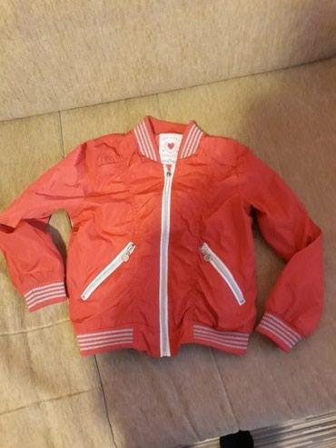 Decija,prolecna jaknica...roze boja...velicina 122... - Pozarevac