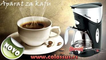 Ploce - Srbija: Aparat za kafu kafomat CSS-5450Snaga 550WKapacitet 0.6 litara – oko 6