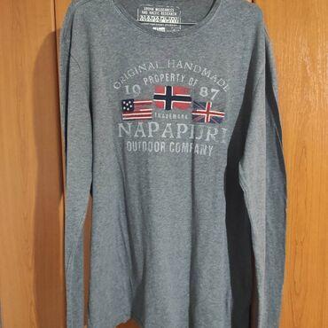 Oze i posebno jedna - Srbija: Na prodaju majica dugih rukava Napapirji . Majica jeste polovna ali u