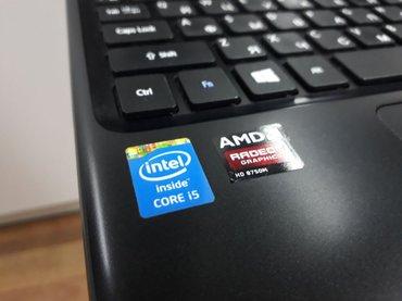 Bakı şəhərində Acer core i5 4200/ram 6gb/hdd 750gb/vga 2gb    noutbuk teze