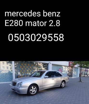 bmw-z3-28-at - Azərbaycan: Mercedes-Benz E 280 2.8 l. 2001