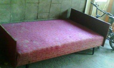 Продается 2х спальная советская кровать в хорошем состоянии 2000сом в Бишкек