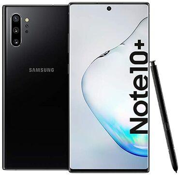 оптом мобильные аксессуары в Кыргызстан: Новый Samsung Note 10 Plus 256 ГБ Черный