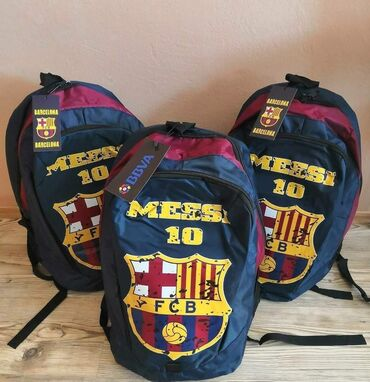 Anatomski ranac - Crvenka: Nov ranac Barcelona Messi 3000 fix cena