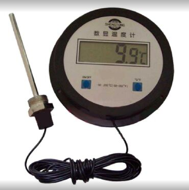 термометр бишкек in Кыргызстан | ГРАДУСНИКИ, ТЕПЛОВИЗОРЫ: Термометр электронный LCD-280S -50-200  Магазин 220volt.kg   Наш адрес