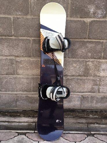 snoubord zhenskij в Кыргызстан: Продаю японский оригинальное сноуборд,очень хороший состояния