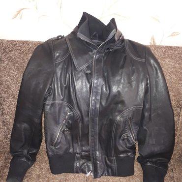 Жен. кож. куртка,пр-во турция. носила один сезон,размер М на 44-46 в Лебединовка