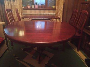стол с двумя стульями в Кыргызстан: СрочноПродается стол,стул 8 штук ) метр2.50-1.50 .цена Срочная Связи