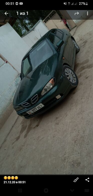 nissan interstar в Кыргызстан: Nissan Primera 1.6 л. 1999